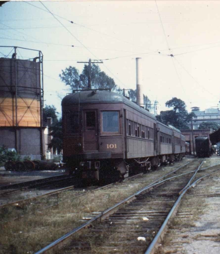 Baltimore & Annapolis Railroad Cars at Bladen Street Station. Annapolis, Maryland Date: Unknown. Source: Unknown.