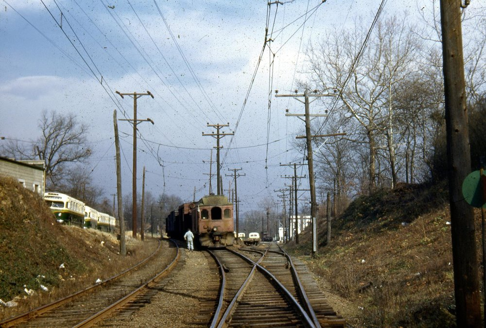 Baltimore & Annapolis Railroad, Linthicum Station. Date: 1940s. Source: Lee Rogers Collection.