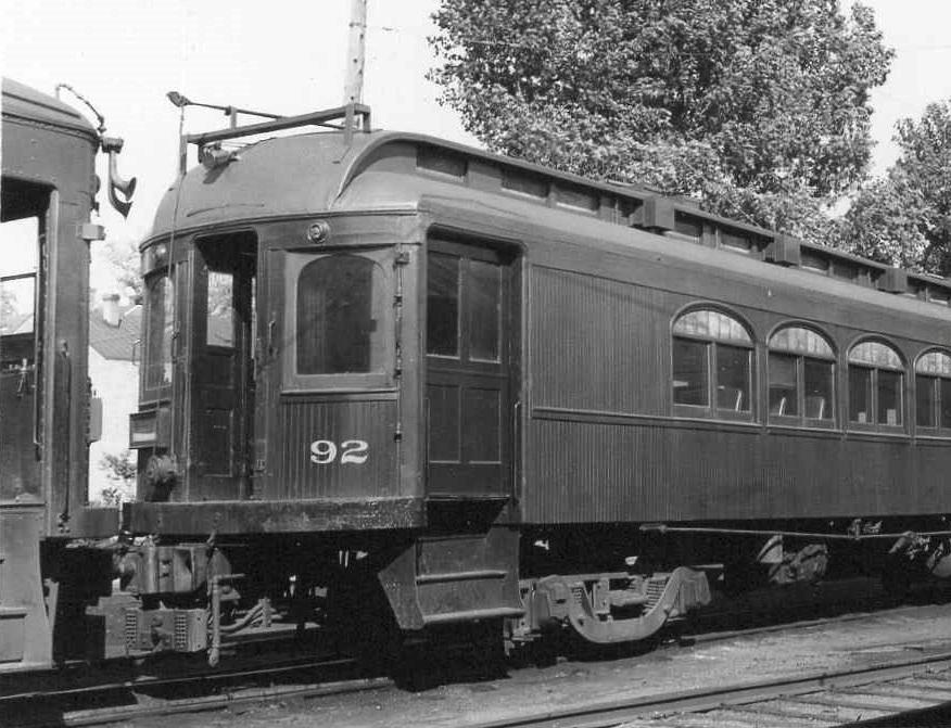 Baltimore & Annapolis Railroad Car #92. Date: Unknown. Source: Unknown.