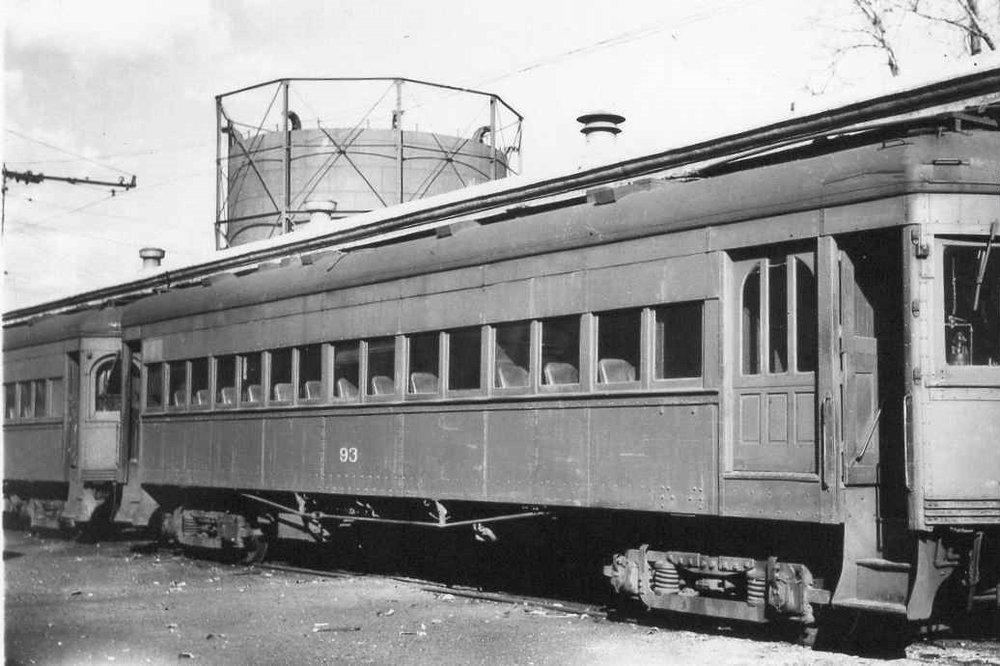 Baltimore & Annapolis Railroad Car #93. Date: Unknown. Source: Unknown.