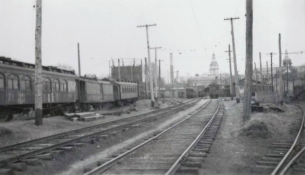 Baltimore & Annapolis Railroad, Bladen Street Station. Annapolis, Maryland Date: Unknown. Source: Unknown.