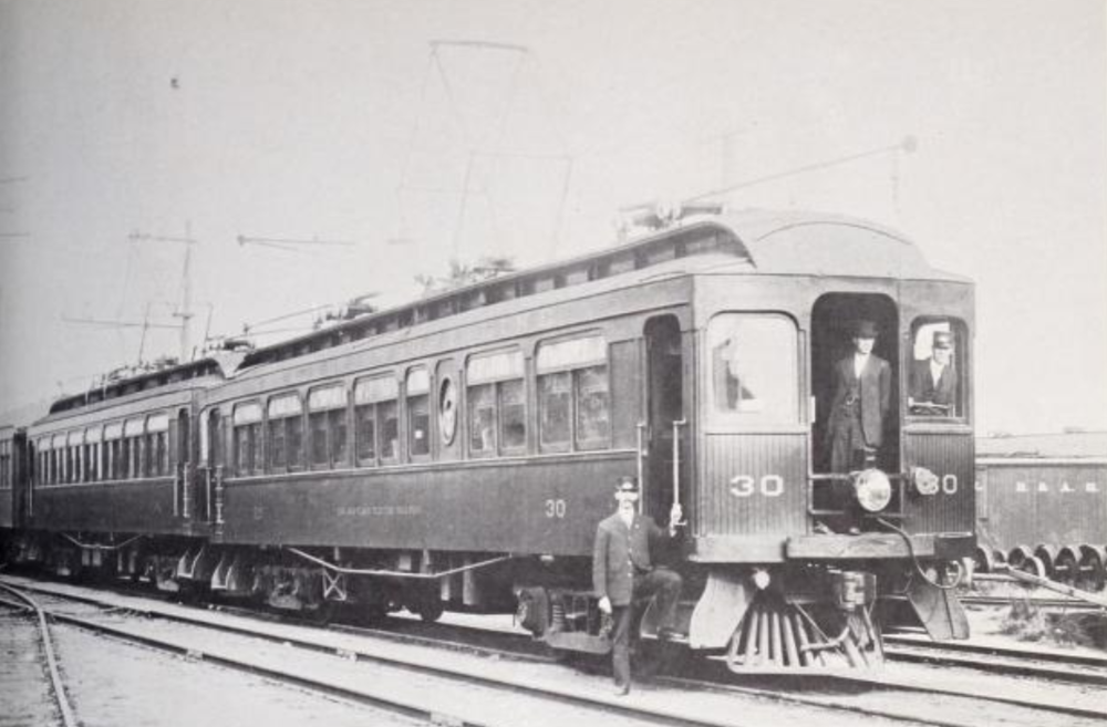 Annapolis Short Line Car #30. Date: Unknown. Source: Unknown.