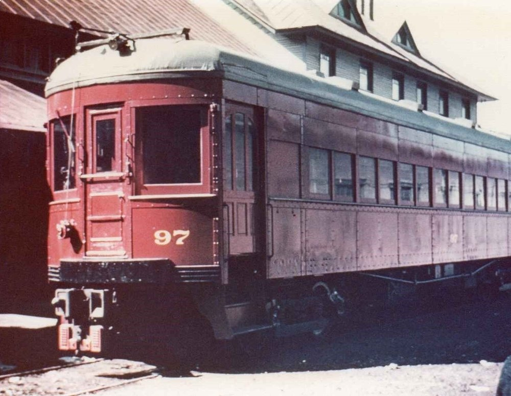 Baltimore & Annapolis Railroad Car #97 at Bladen Street Station. Annapolis, Maryland Date: Unknown. Source: Unknown.