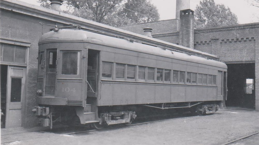 Baltimore & Annapolis Railroad Car at Bladen Street Station. Annapolis, Maryland Date: Unknown. Source: Hugh Hayes Collection.