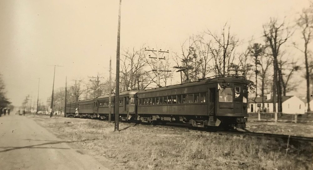 Baltimore & Annapolis Railroad Cars. Date: Unknown. Source: Hugh Hayes Collection.