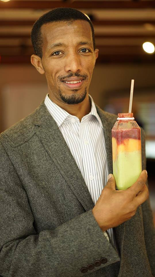 Abdi Abajabal - FOUNDER AND PRESIDENTAbdi is a respected entrepreneur in Harlem and Manhattan. When he arrived in New York City as a refugee from Ethiopia, he had no money, little education, and could not speak English. He currently runs the chain of Oasis Jimma Juice bars in New York. Abdi is a well known philanthropist, who always gives back to his community by donating healthy food to the community. He is an advocate against the gentrification of Harlem and surrounding neighborhoods.