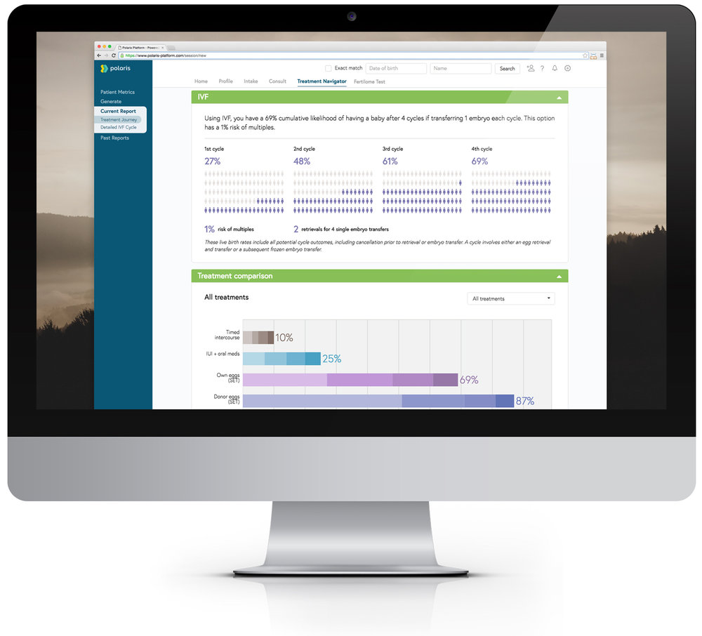 Polaris : A Powerful Fertility Patient Portal and Treatment Navigator