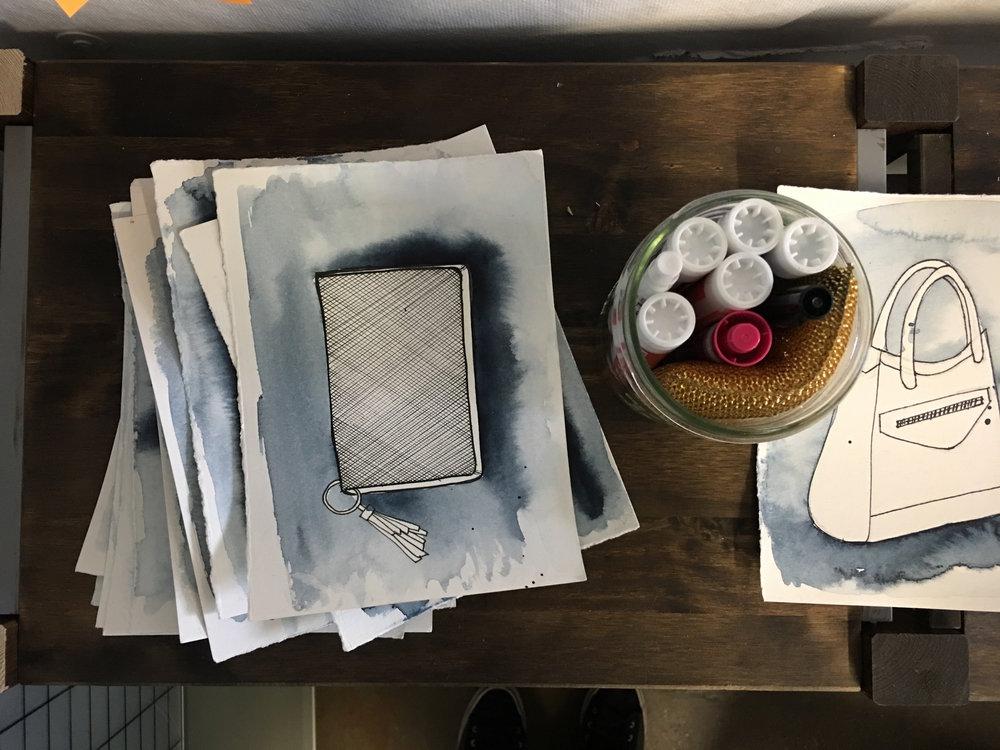 Design Process: Watercolor