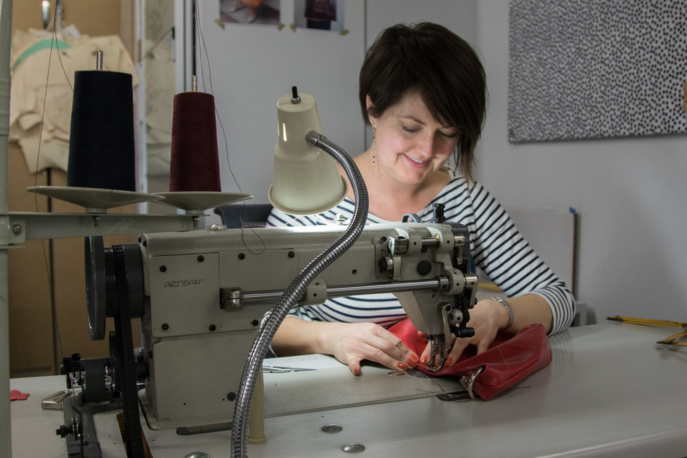 Crystalyn Brennan at the Brooklyn Fashion + Design Accelerator