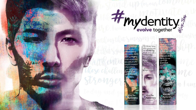 Guy Tang #mydentity evolve together hair color line Vivid colors beautiful results - Asheville NC Lavender and Lace Hair salon