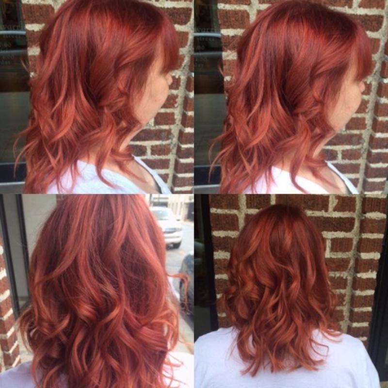 Hillary Loves Hair Salon Asheville NC Hair Color Cut & Style Hair Stylist Hillary Small