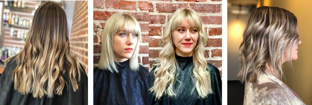 Asheville NC Hair Salon Color HAIR EXTENSIONS HAIR STYLE Hillary Loves Hair