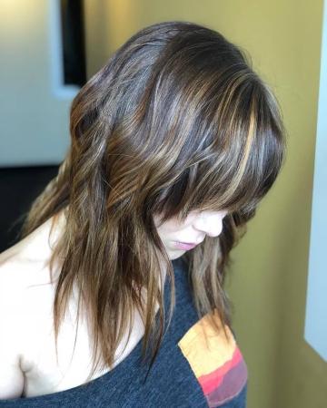 Hillary Loves Hair Salon Asheville NC Color Hair Stylist Rich Balyage