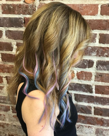 Asheville Hair Extensions Keratin Bond Extra Length Vivid Color