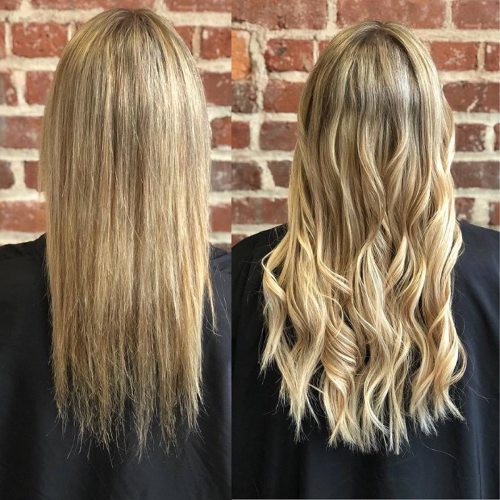 Hair Extensions Blonde Full Body Hair Extensions Salon