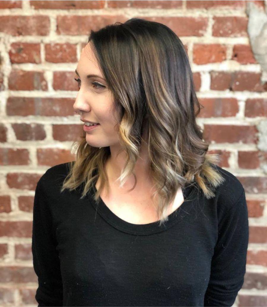 Asheville NC Hair Color Salon Balayage Transformation