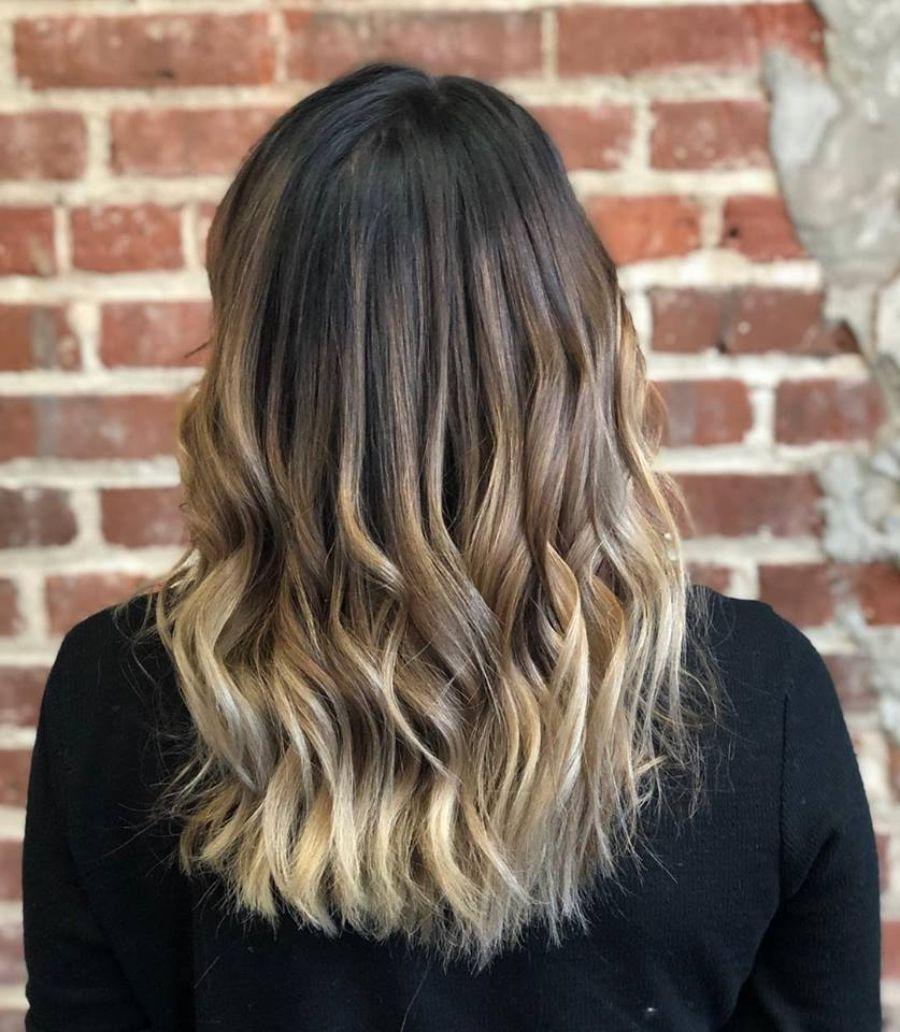 NC Asheville Balayage Color Transformation Hair Salon
