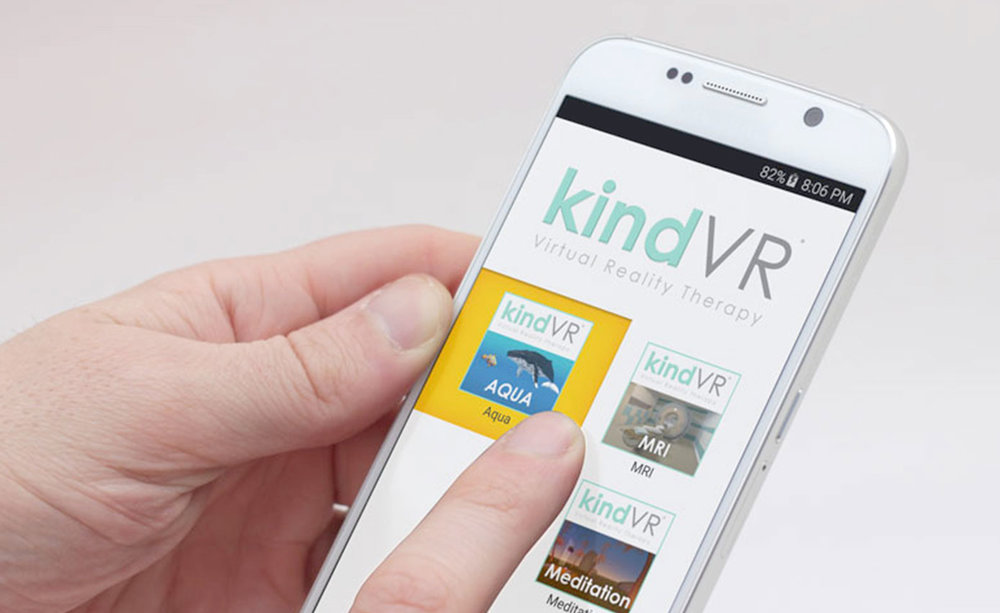 Customized for Ease of Use and HIPAA compliant - The KindVR phone is modified to be easy to use for medical staff and is HIPAA compliant. It does not connect to the internet and gathers no patient information.