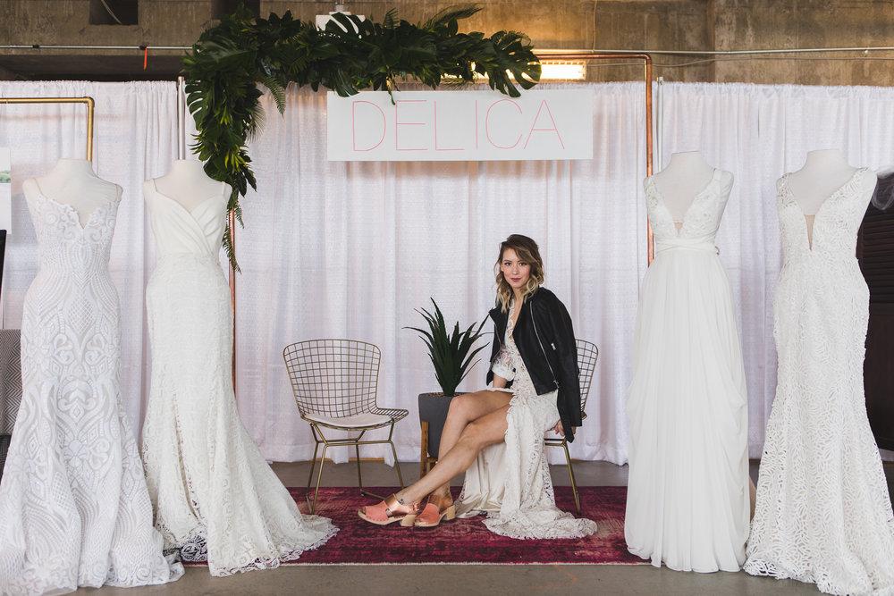 Delica Bridal  Photography by Jill Coursen