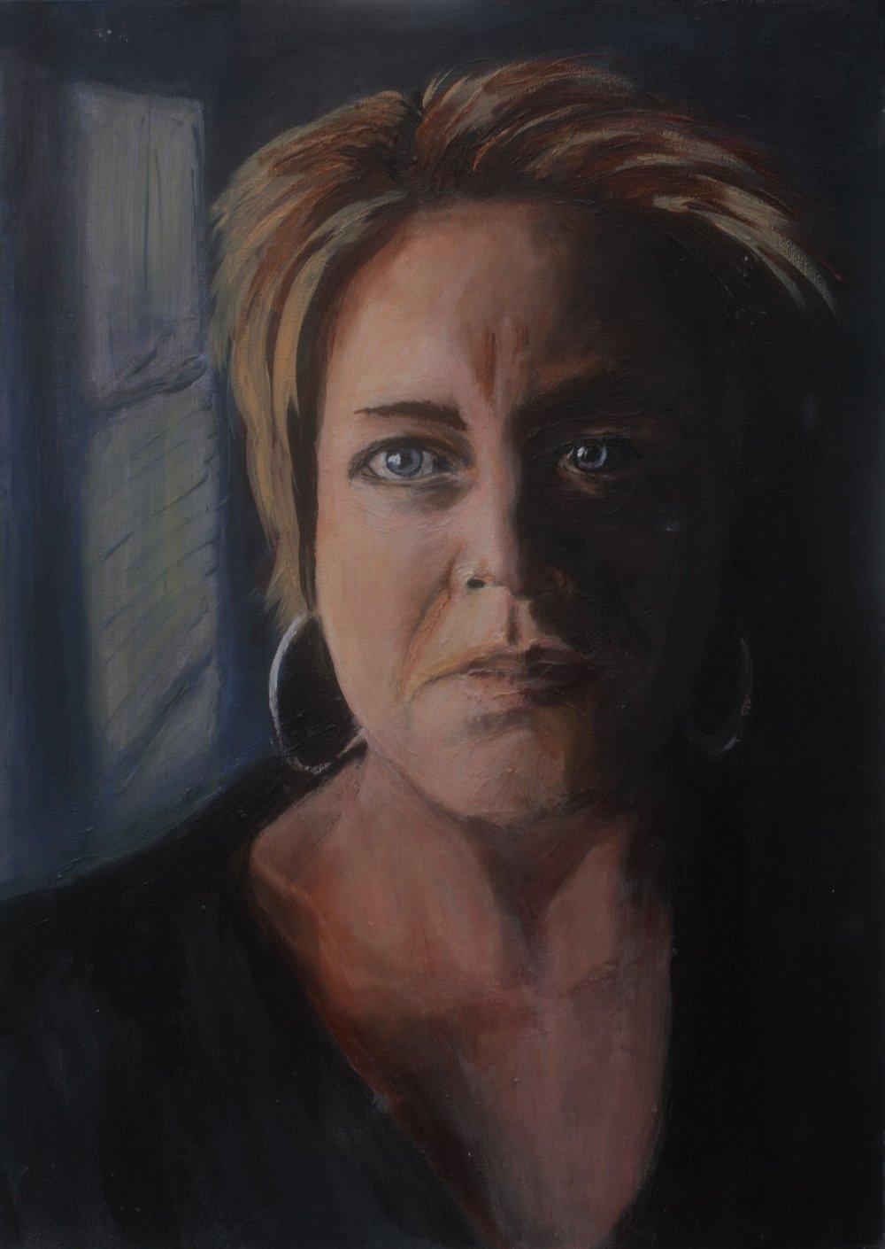 griselle self portrait