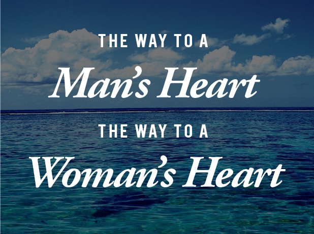 An amazing guide to finding your way to each other's hearts.