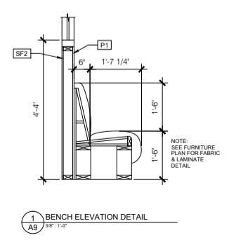 Sample of elevation drawing