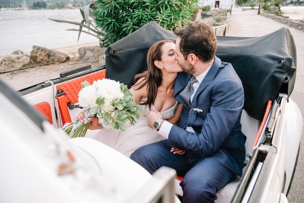 Wedding in Corfu Greece