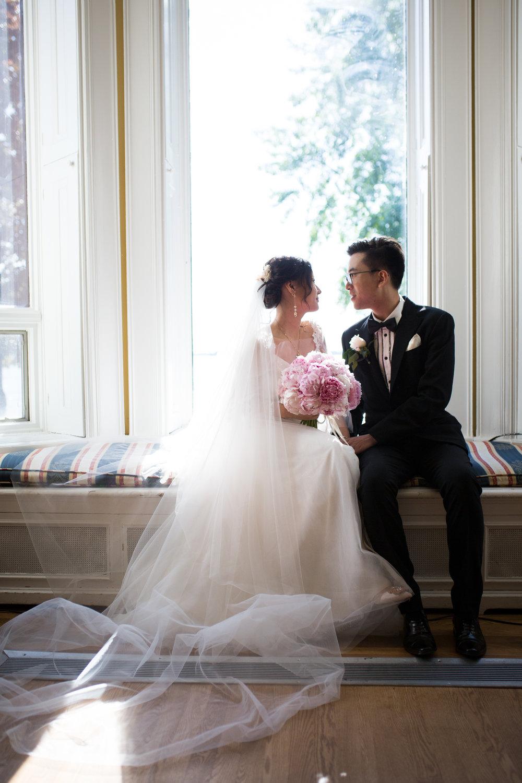 Fairy Tale Wedding in an English Manor