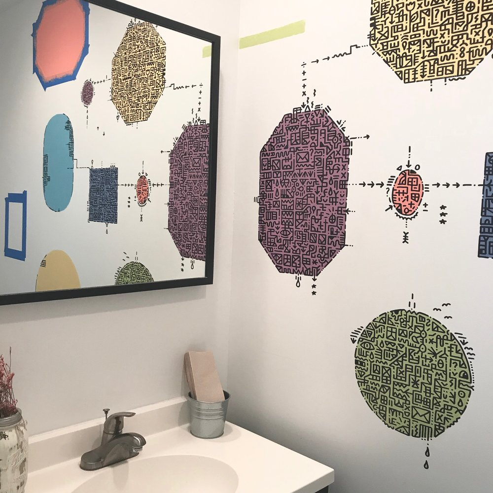 VInnie Hager - Bathroom (to see more of Vinnie's work please visit www.vinniehager.com)
