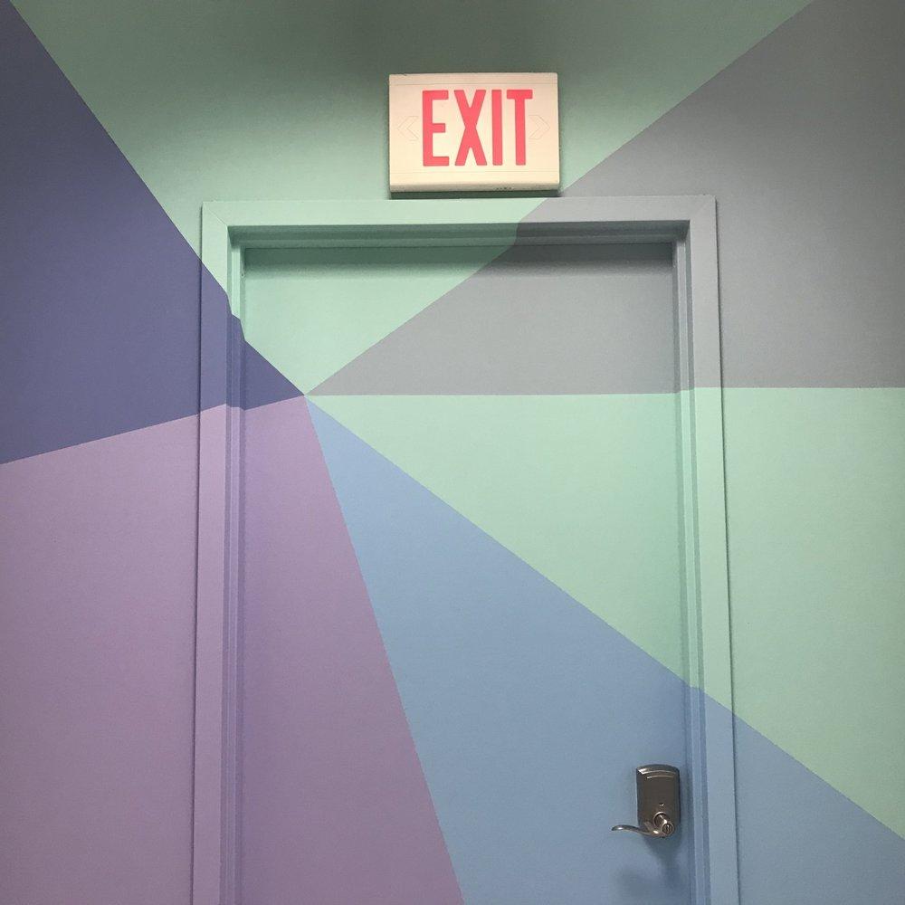 Jennifer Casey - Hall Bathroom Exit