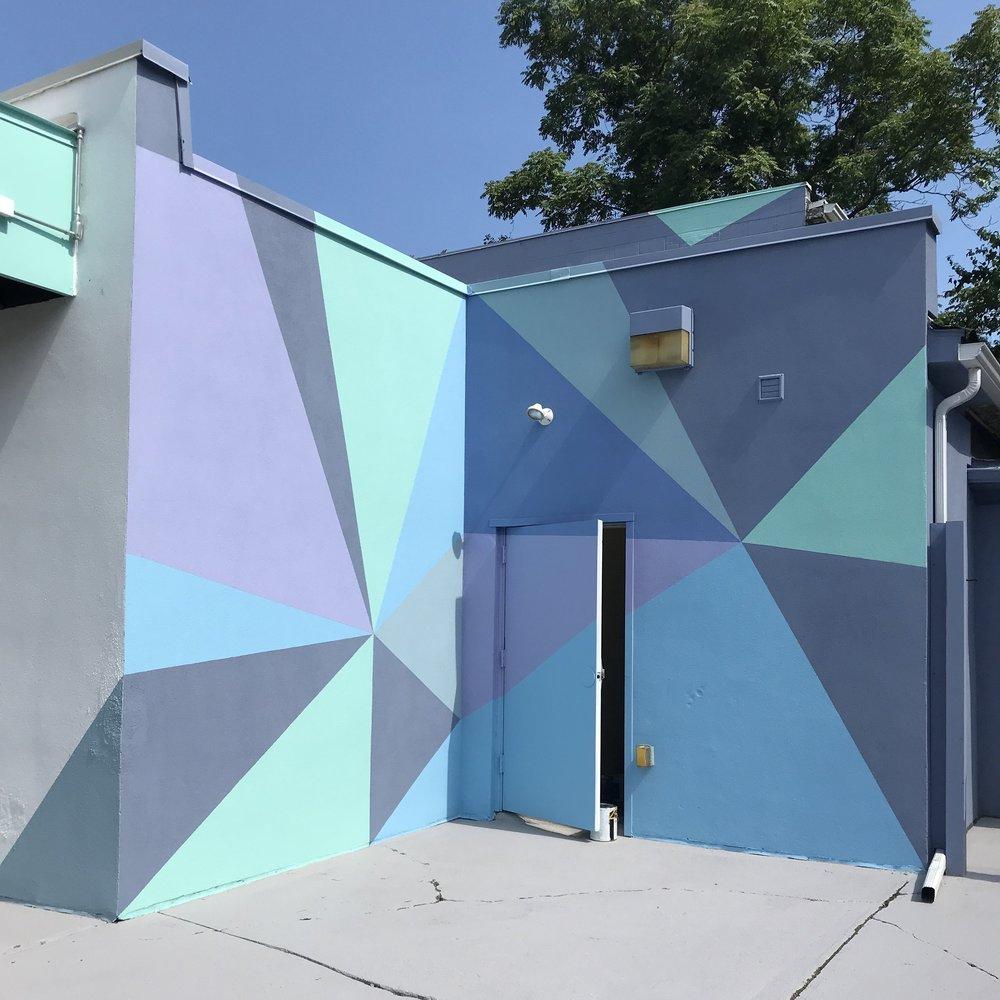 Art At Large - Exterior Patio