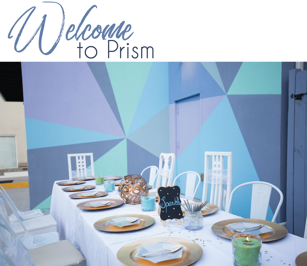 - PRISM is a modern, industrial event and wedding venue located along West Street in Downtown Annapolis. Our all white interior allows our clients to throw unique, customized events. While our colorful exterior brings a taste of whimsy to the art and event scene in Annapolis.