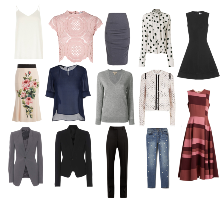 ca045a9b077 Can you suggest a 10 piece clothing capsule for a business casual office  for a year-round Southern California climate  - Anonymously Fabulous