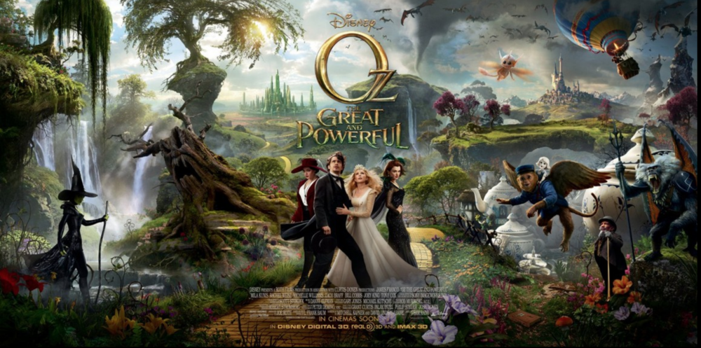 Set Costumer on OZ The Great and Powerful