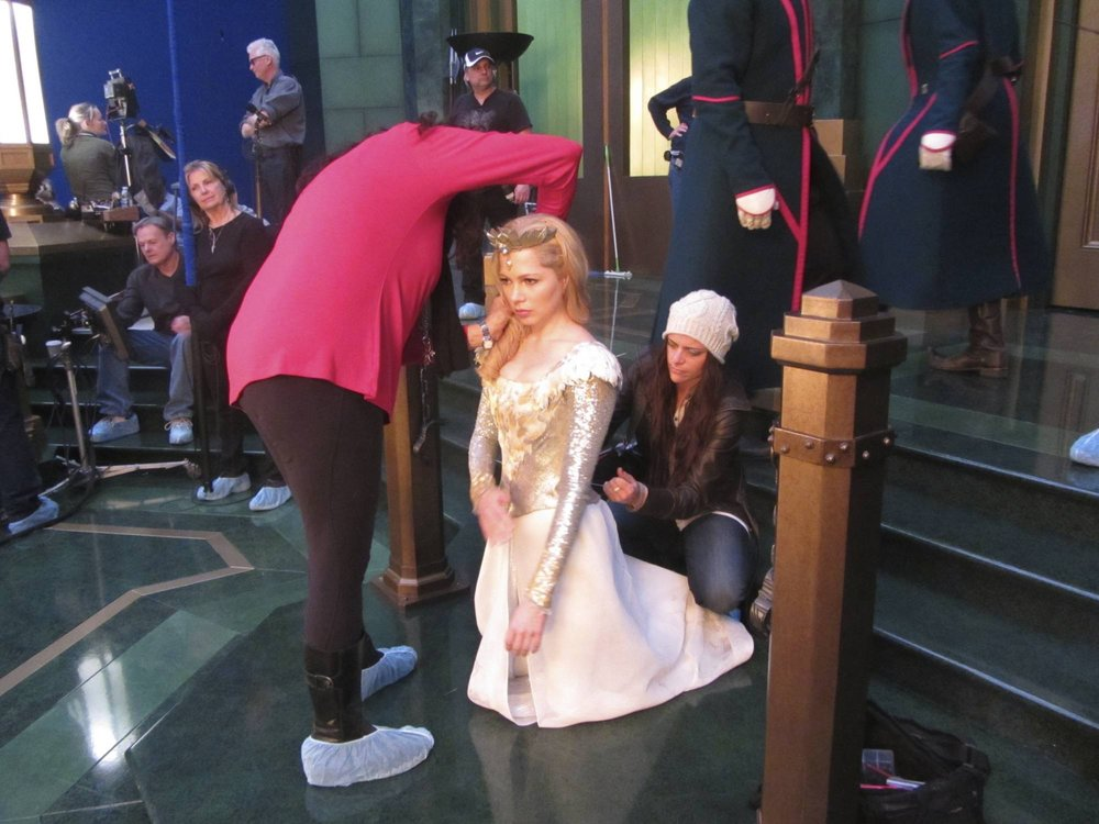 Michelle Williams costumer on the movie Oz The Great and Powerful