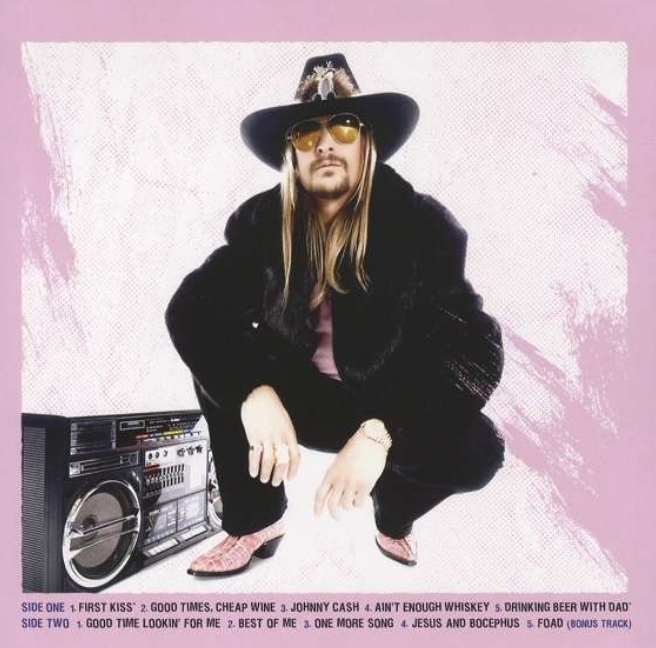 "Kid Rock for this album ""First Kiss"""