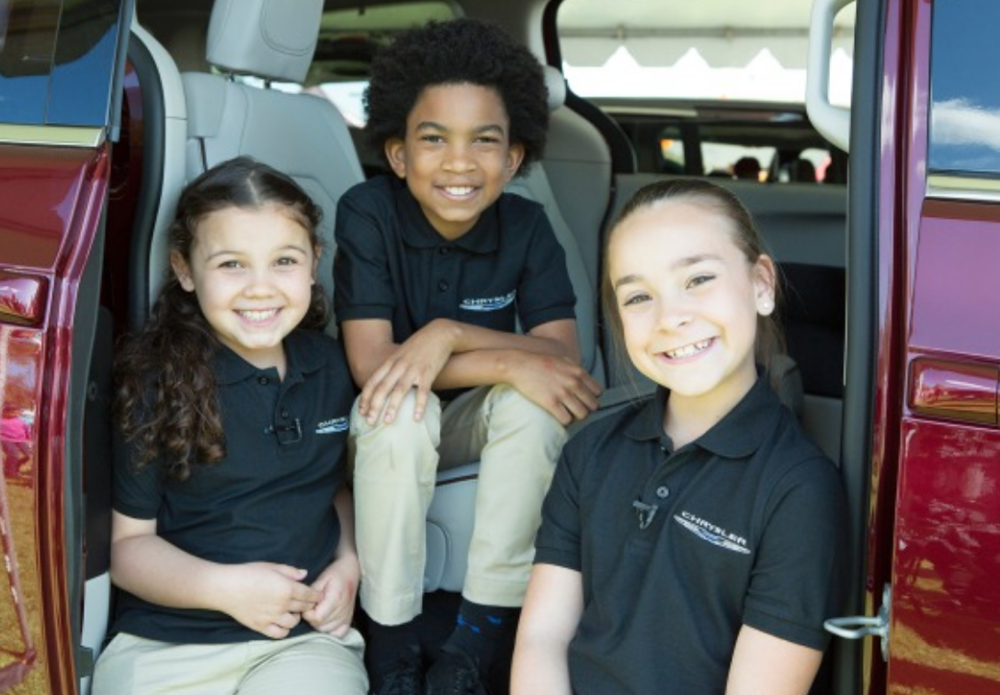 Chrysler Pacifica Kids