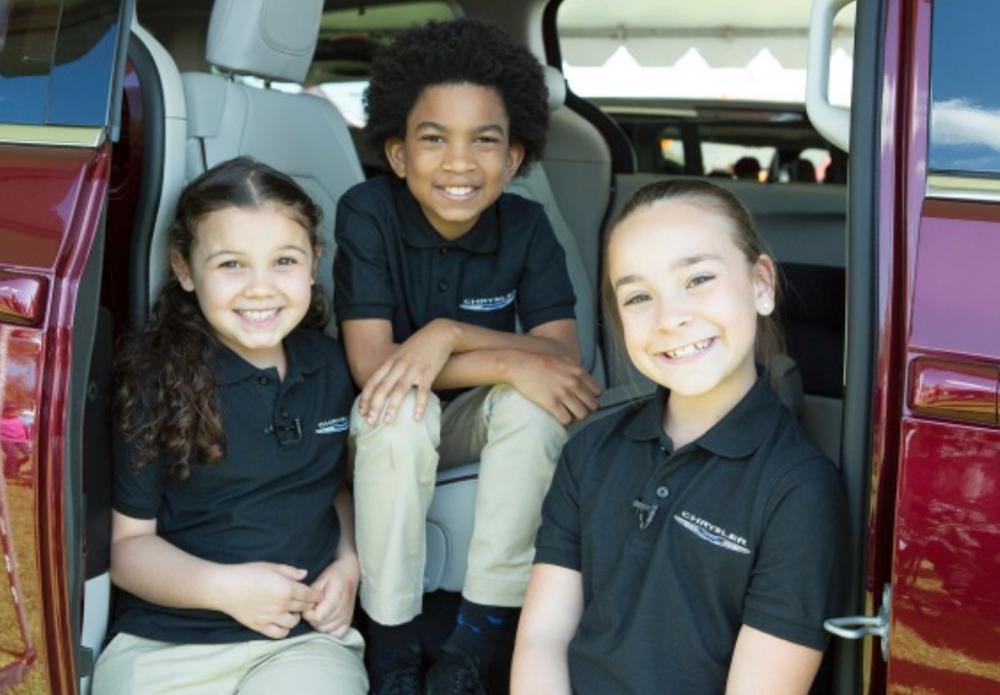 Chrysler Pacifica Kids