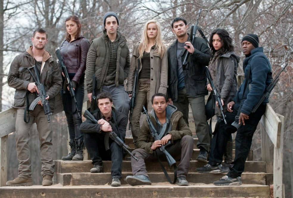 Red Dawn set costumer to this talented group