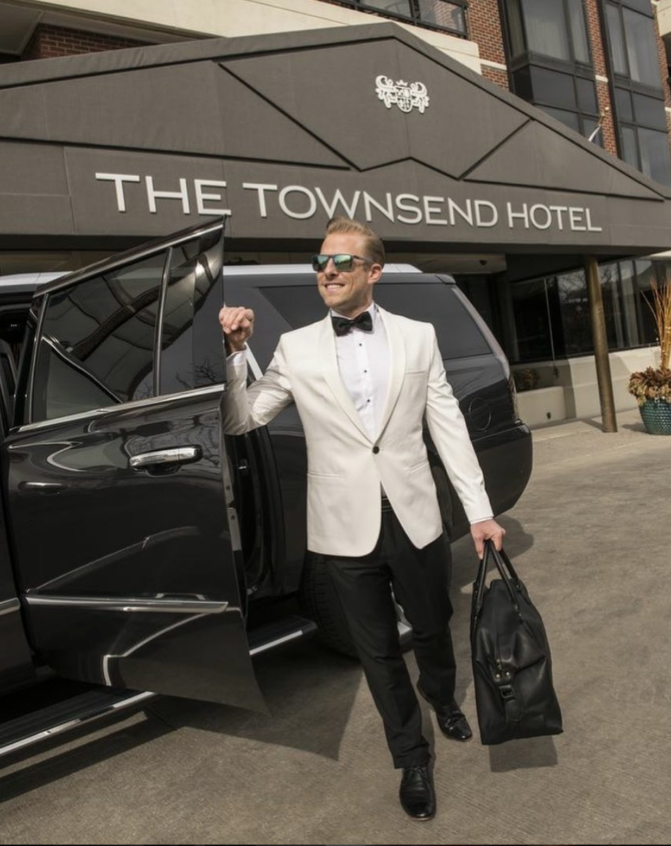 TOWNSEND HOTEL Photo Shoot