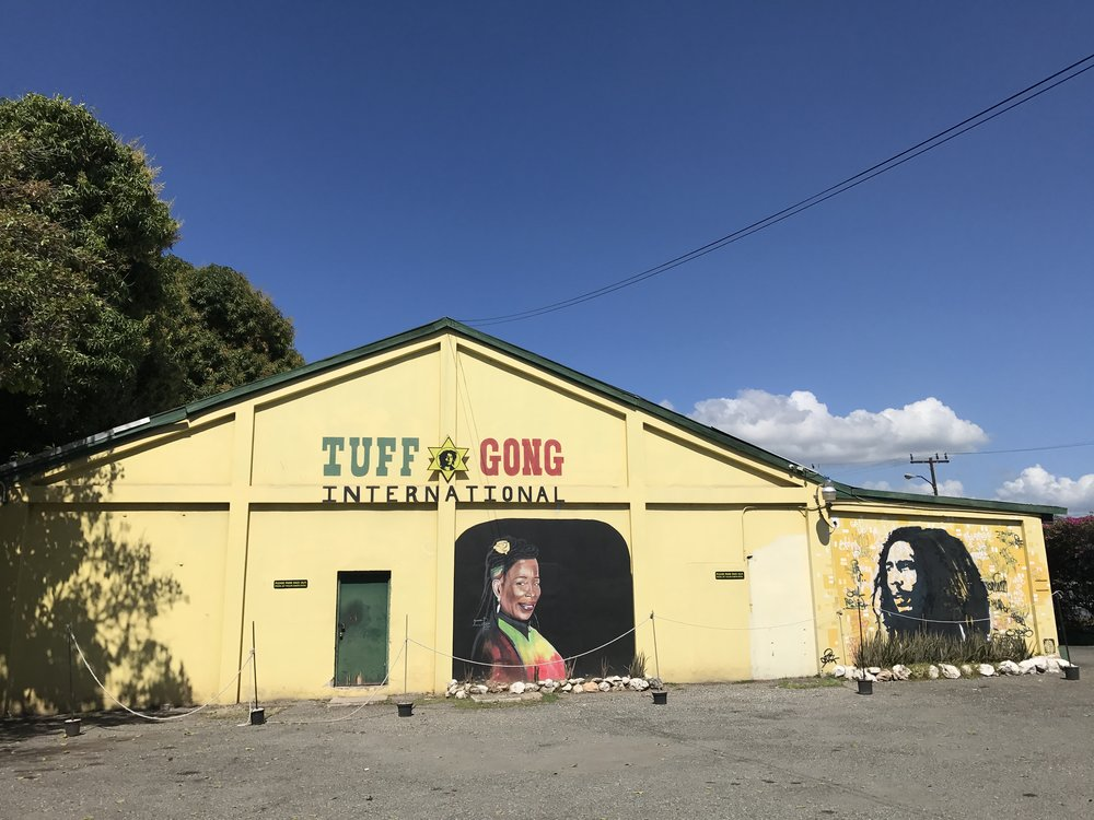 tuff gong sessions - We had the honour of recording and filming at Tuff Gong studios in Kingston, the studios where Bob Marley created a body of work that still graces the airwaves to this day. Kingston is a music mecca and home to many of the biggest international reggae stars in the world.