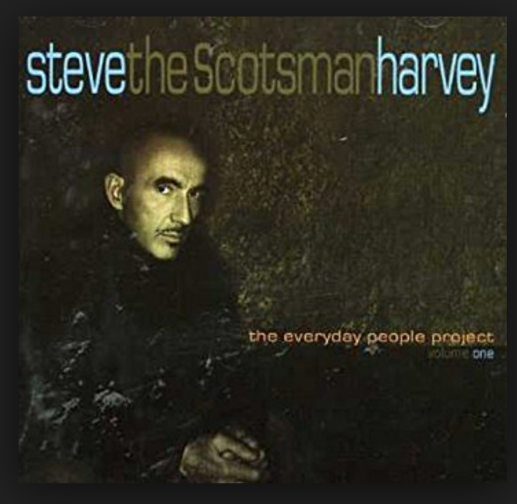 Steve the Scotsman Harvey - The last SoulKeepers album project which featured the infamous section SLH used for many years on so many of his productions : Bobby Watson / Jimi Macon / Roman Johnson & Tony Patler / The record featured a star studded line up of the Younger generation of Soul artists of that era ...Ledisi / N'dambi / Donnie / Rassan Patterson / Keite Young / Gavin Christopher and many more