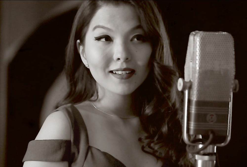 La Vie En Rose - Nominjin performs the French classic made famous by the legendary Edith Piaf. A live 1st take recording with Grammy award winning pianist Ruslan Sirota