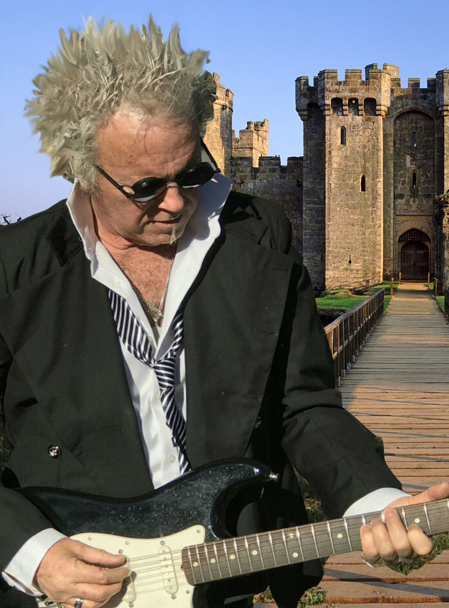 Phil playing at the Castle
