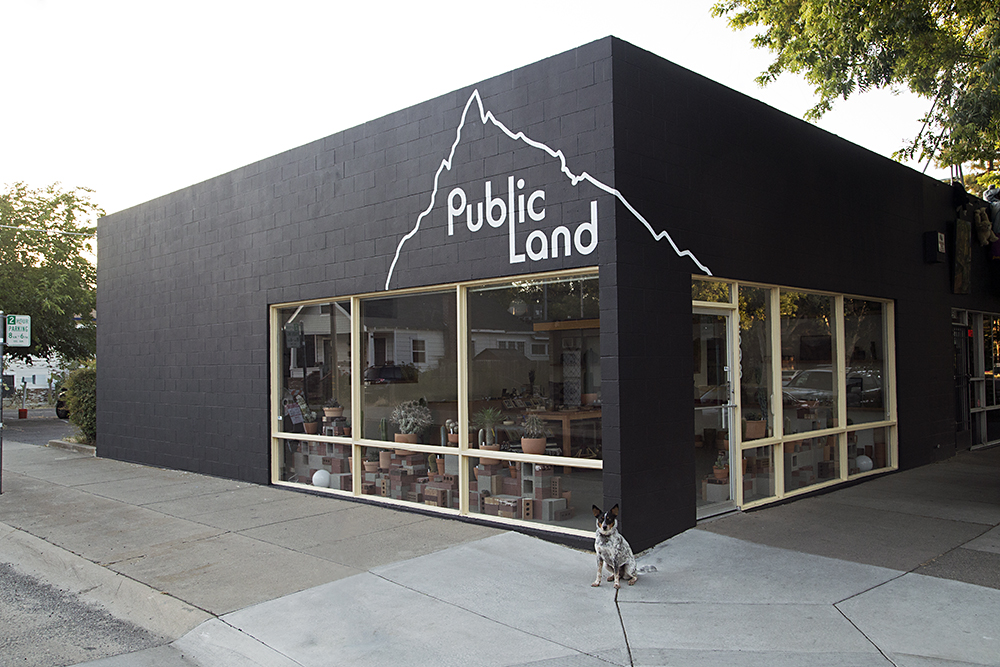 Public Land Store in the Curtis Park neighborhood of Sacramento, Ca, 2018