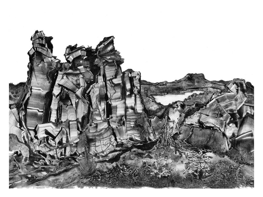 New Mexico landscape by artist Grady Gordon