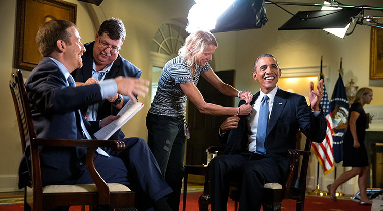 (no, we didn't interview the President, but we can make you feel like him!)