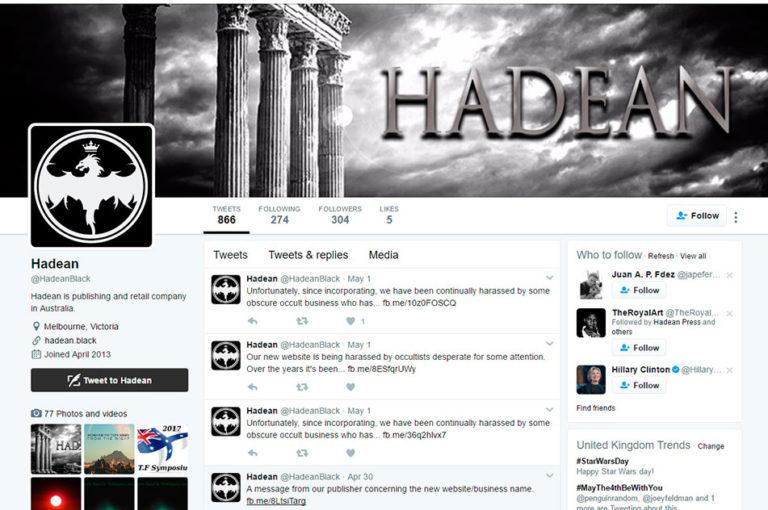 hadean press — News — Hadean Press