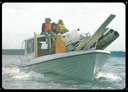 Bild på någon av dom första båtarna?