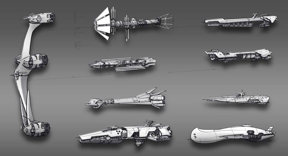 Additional filler ships for earth and other planets.